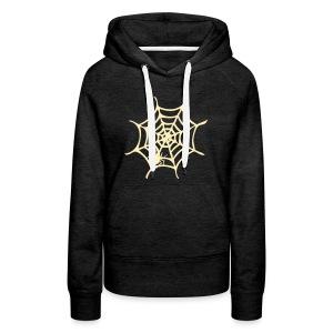 Spider web Women's Premium Hoodie - Women's Premium Hoodie