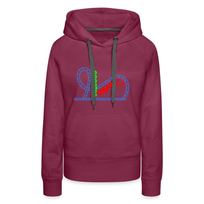 Women's Premium Hoodie (Multiple Colors Available)