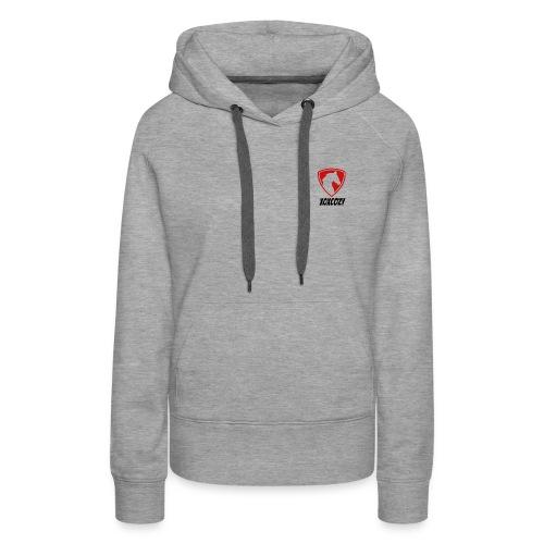 Grey Women's Hoodie - Women's Premium Hoodie