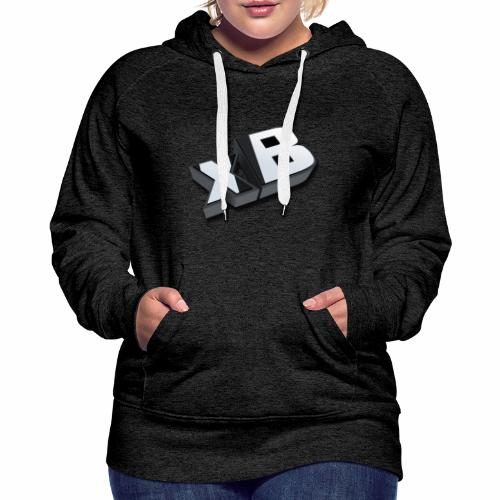 xB 3D (Women) - Women's Premium Hoodie