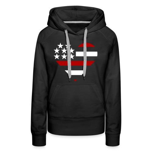 American Heart - Women's Premium Hoodie