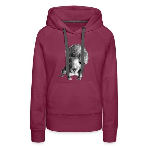 curious squirrel - Women's Premium Hoodie