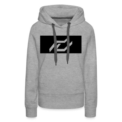 Girl Sweater /Gray - Women's Premium Hoodie