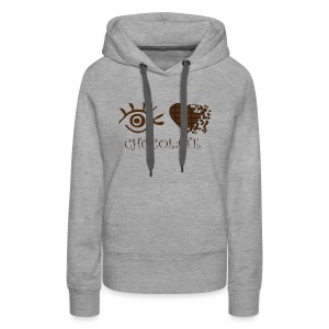 Eye-Love Chocolate - Women's Premium Hoodie