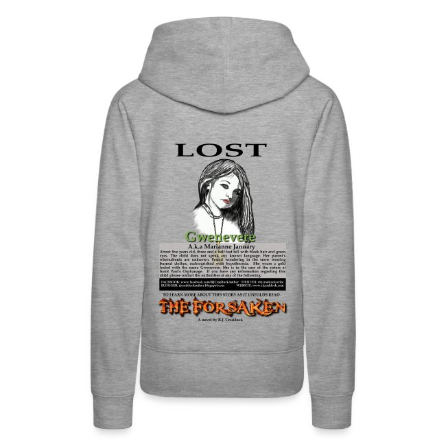 Lost - The Forsaken book hoodie