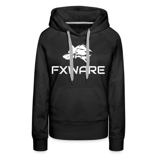 FXWARE Fitted Hoodie - Women's Premium Hoodie