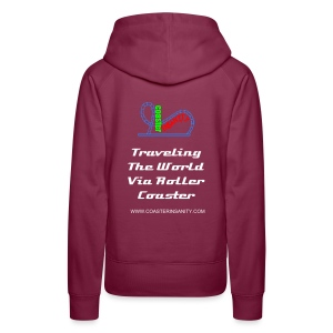 Women's Premium Hoodie TRAVEL (Multiple Colors Available) - Women's Premium Hoodie