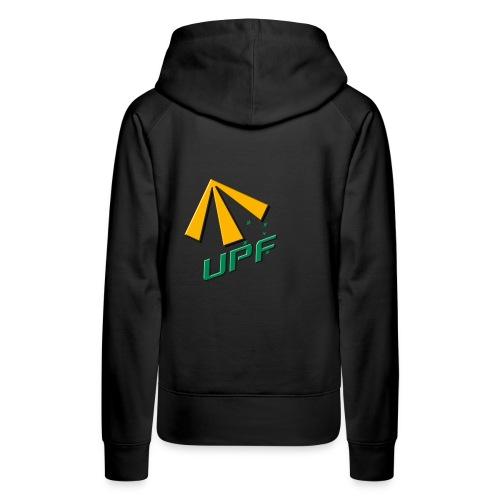 UPF Streetwear Hoodie - Womens Black - Women's Premium Hoodie