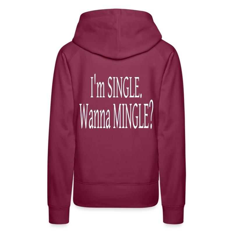 single_mingle - Women's Premium Hoodie