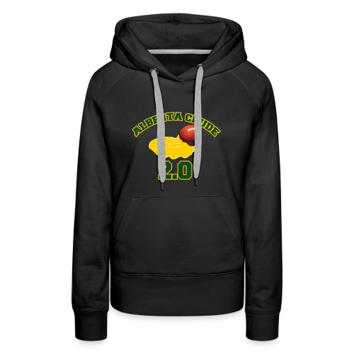 Women's black ab crude hoodie - Women's Premium Hoodie