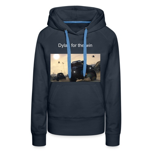 gta5 dylan for the win womens - Women's Premium Hoodie