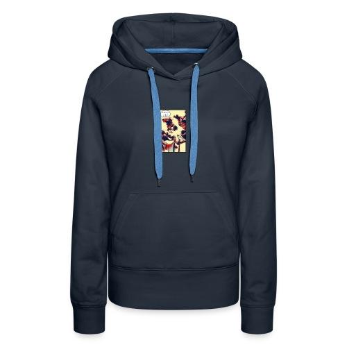 Ocean says... hoodie - Women's Premium Hoodie