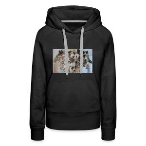 Womens Demon Flock Sweater - Women's Premium Hoodie