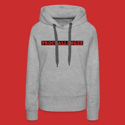 Women's Prochallenges Premium Hoodie (Grey) - Women's Premium Hoodie