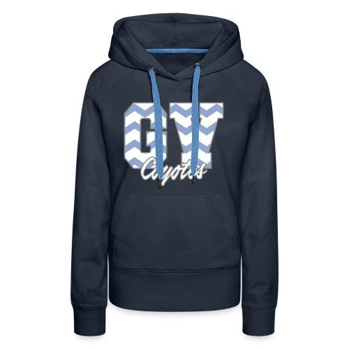 GVHS Wavy Women's Hoodie - Women's Premium Hoodie
