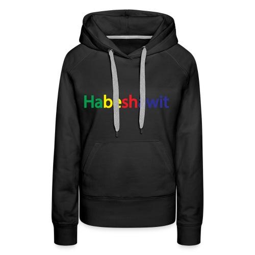 Habeshawit Women Hoodie - Women's Premium Hoodie
