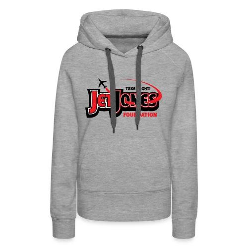 JetJones Foundation Women's Logo Sweatshirt - Women's Premium Hoodie