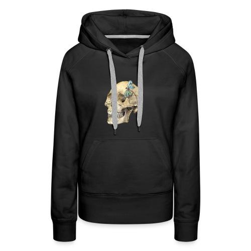 Skull & Dragonfly - Women's Premium Hoodie