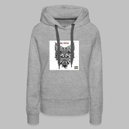 My Pride EP Women's Grey Hoodie - Women's Premium Hoodie