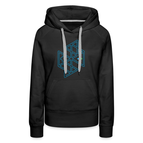 Abstract Gaming Women's Hoodie - Women's Premium Hoodie