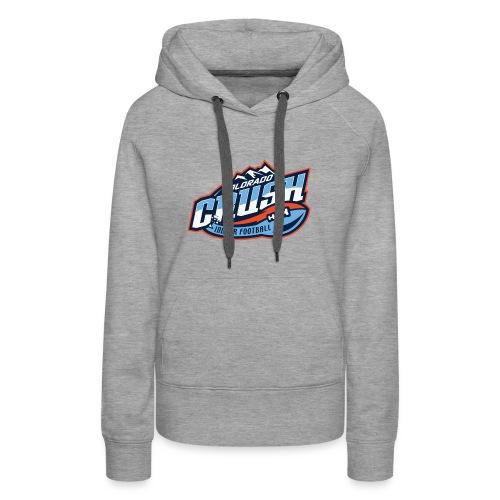Women's Crush Chest Logo Hoodie - Women's Premium Hoodie