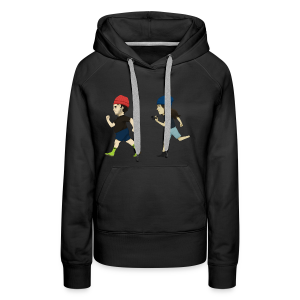 Hila and Ethan from h3h3productions - Women's Premium Hoodie
