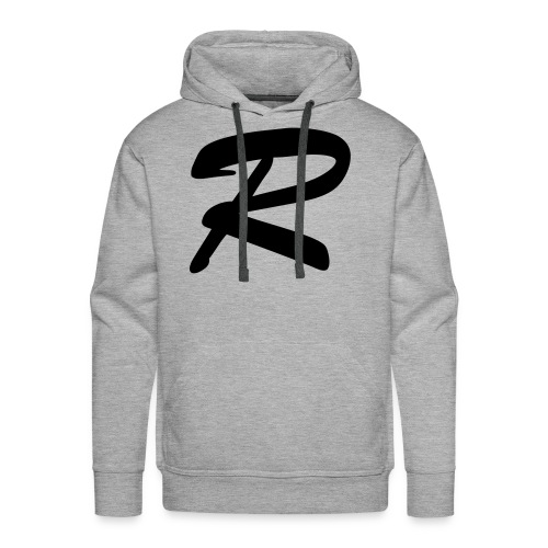 """""""R"""" - men's hoodie 2 - Men's Premium Hoodie"""