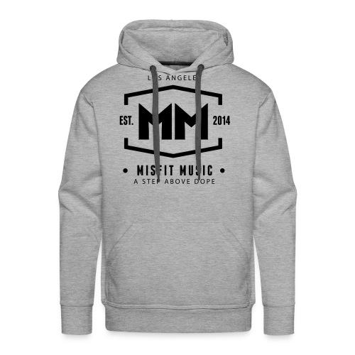 Misfit Music Hoodie Grey - Men's Premium Hoodie
