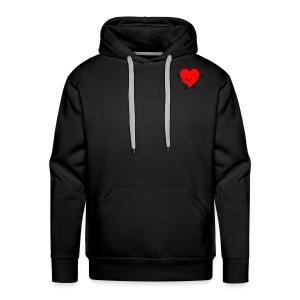 Happy Heart Hoodies - Men's Premium Hoodie