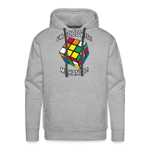 Rubik's Cube Good With My Hands - Men's Premium Hoodie