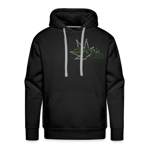 ChronicCAST Sweater Logo Small - Men's Premium Hoodie