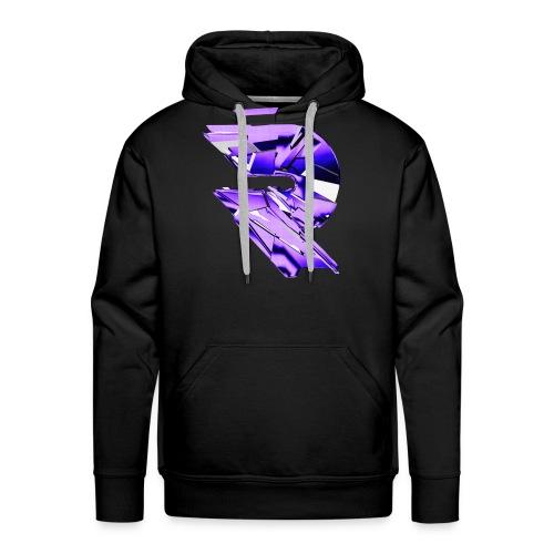 Purple logo Hoodie - Men's Premium Hoodie