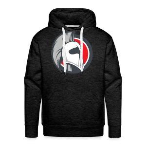 Ares Dark Gray Hoodie - Mens - Men's Premium Hoodie