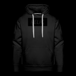 Relic Box Logo Black Sweatshirt - Men's Premium Hoodie