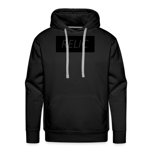 Relic Box Logo Black Sweatshirt - Men's Premium Hoodie