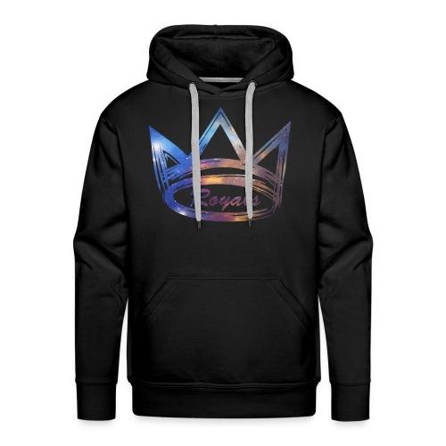 Royals Crown Galaxy - Men's Premium Hoodie
