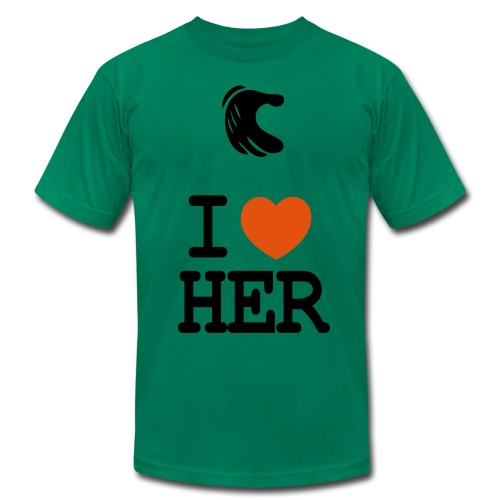My First GirlFriend Green - Men's  Jersey T-Shirt