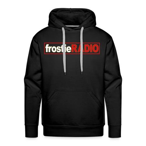 Mens frostieRADIO Hoodie (Black) - Men's Premium Hoodie