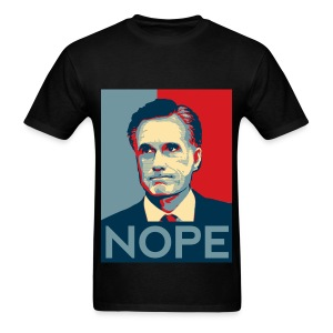 Nope  To Romney! - Men's T-Shirt