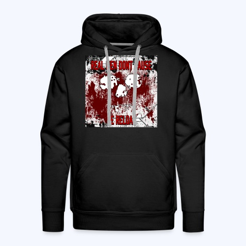 SavageCasts Bloodied Logo - Men's Hoodie - Men's Premium Hoodie