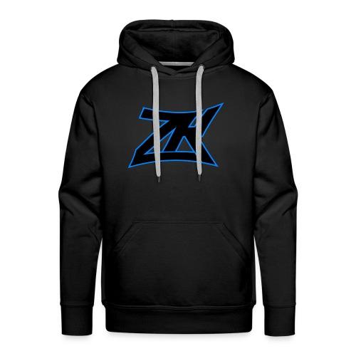 Black Men's ZK Logo Hoodie - Men's Premium Hoodie