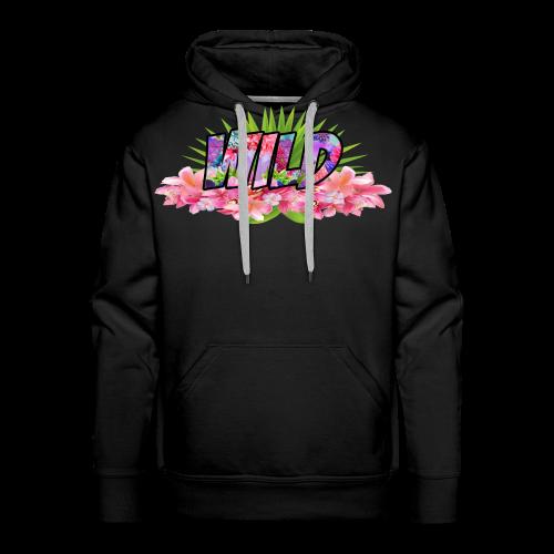 Wild Floral Hoodie - Men's Premium Hoodie
