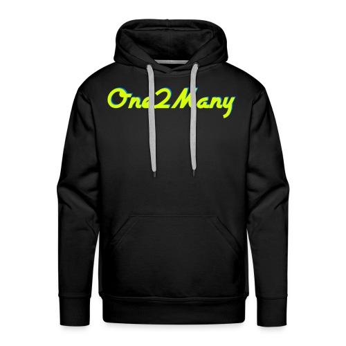 Premium 2Many™ Certified Sweatshirt/Hoodie - Men's Premium Hoodie