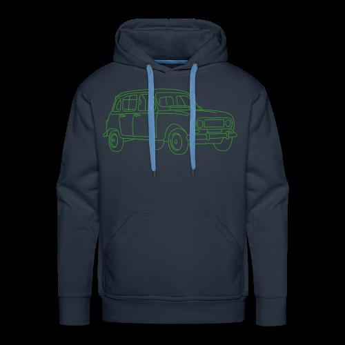 R4 (car) - Men's Premium Hoodie