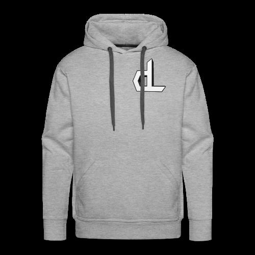 3D dL Hoodie - Men's Premium Hoodie