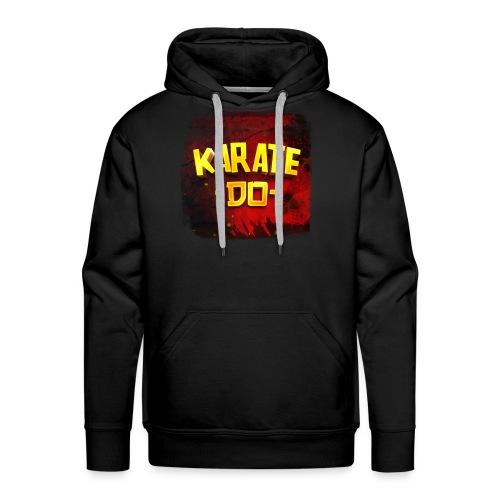 Karate Do - Premium Hoodie (black) - Men's Premium Hoodie