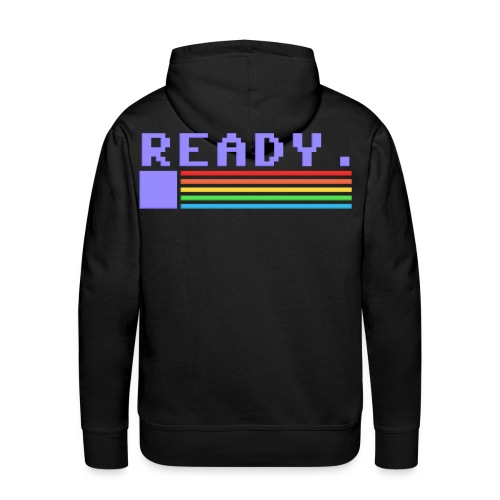 Ready for you, Commodore - Men's Premium Hoodie - Men's Premium Hoodie