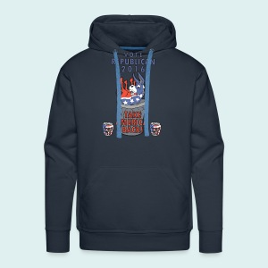 TAKE AMERICA BACK IN 2016 - Men's Premium Hoodie