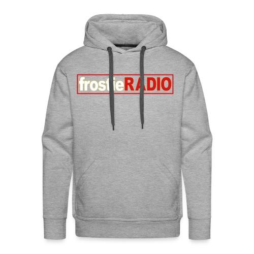 Mens frostieRADIO Hoodie (Light Gray) - Men's Premium Hoodie