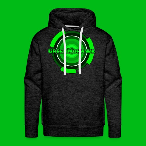 GreenMohawk Charcoal Hoodie - Men's Premium Hoodie